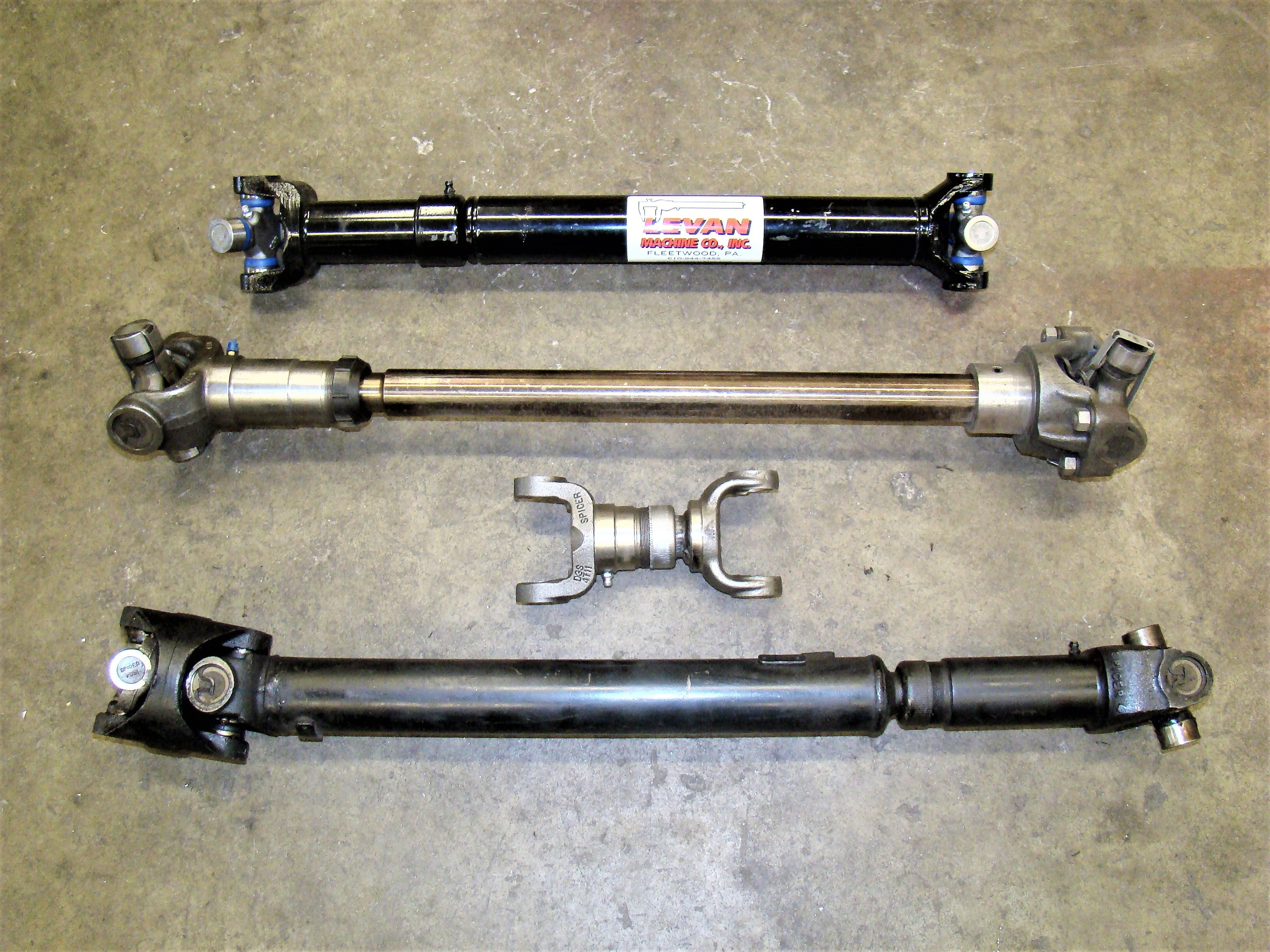 Collection of driveshafts