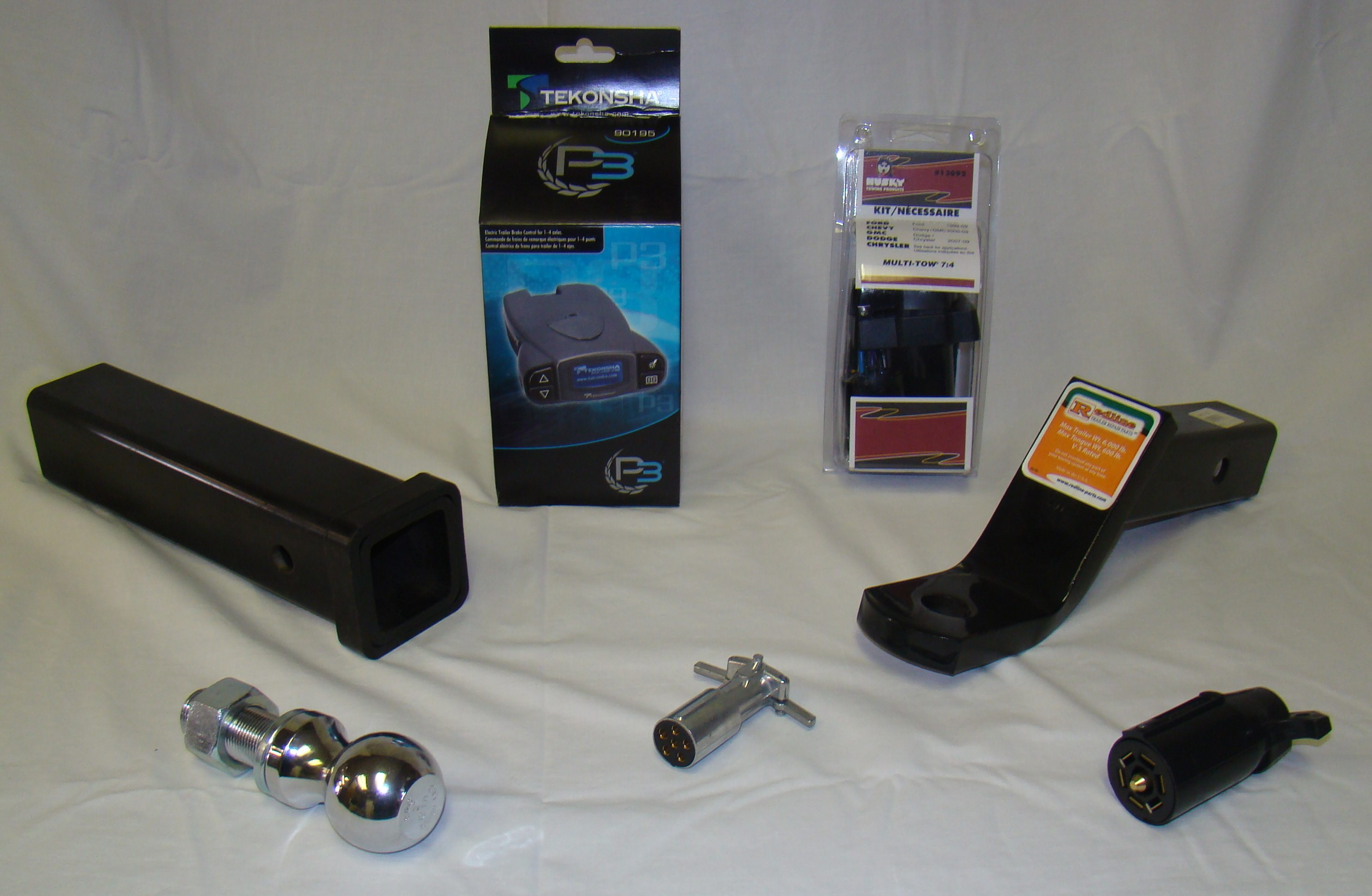 trailer parts product imagery